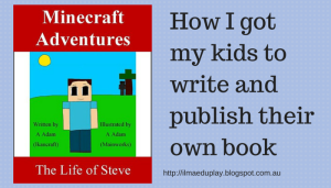 How I got my kids to write and publish (1)